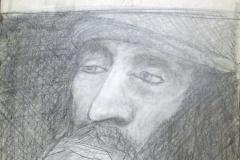 man, reflective