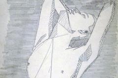 woman, geometric 01