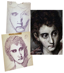 El Greco - analytical teenage studies, biro