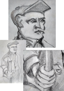 farmer analytical - from a Guttuso figure