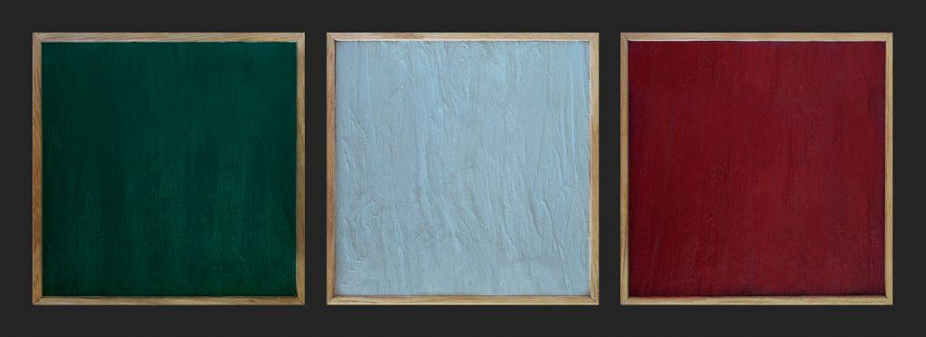 Italians (triptych, 2013)