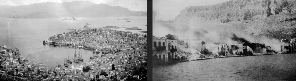 Kastellorizo, from prosperity to adversity