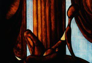 The Pregnant Curtain (1987)
