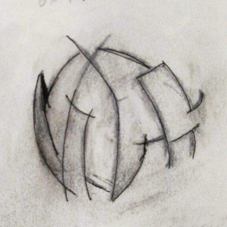 Future cubist sphere