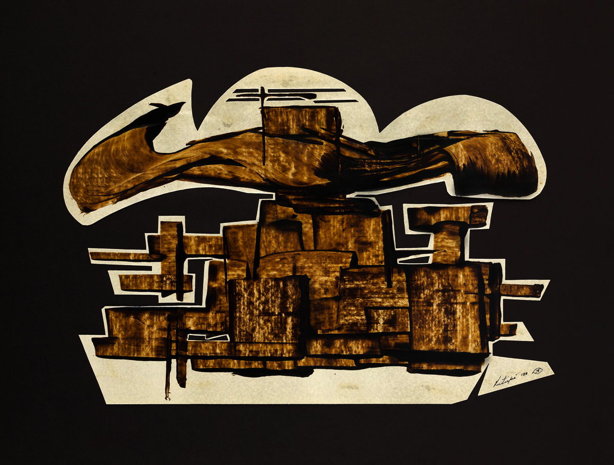 Esoteric Structure (cut-out, 1988)