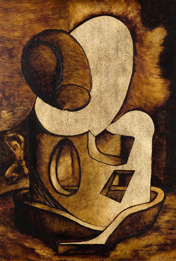Portrait of Man - the fetal penis (1987)