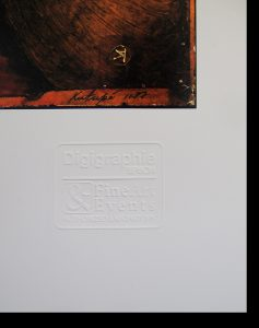Embossed Digigraphie Stamp